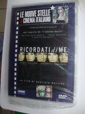 DVD  LE NUOVE STELLE DEL CINEMA ITALIANO - RICORDATI DI ME con SILVIO MUCCINO