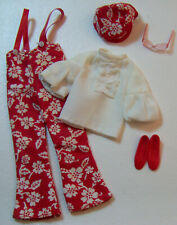 Vintage Skipper Doll SUPER SLACKS #1736 Suspenders White Blouse & Hat 1970-1971