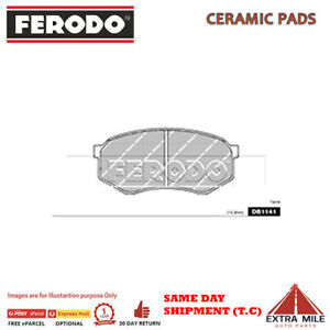 BRAKE PADS FRONT for TOYOTA CRESSIDA MX83 1988-1992 3.0L 6cyl DB1141F