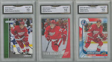 3 LOT 2015-16 UD & PARKHURST & STAR ROOKIES DYLAN LARKIN ROOKIE CARD GEM MINT 10