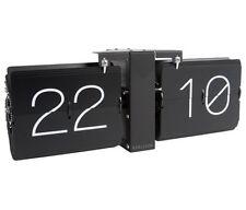 Karlsson nessun caso Flip Clock Black Frame Supporto a parete installazione libera
