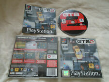Grand Theft Auto 2 PS1 (WITH MANUAL) rare Sony Playstation black label GTA2