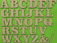 3FONTS NUMBERS,SIGNS-12MM MDF,DECORATE,PLAQUE,CRAFT 8-20CM SIZE WOODEN LETTERS