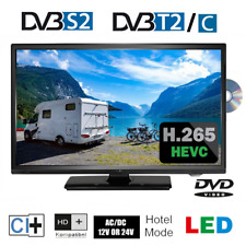 Reflexion LDDW20N mit Triple Tuner DVB-S2/C/T2 HD & DVD-Player für 12/24/230V Be