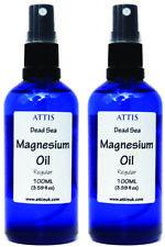 ATTIS Best Dead Sea Magnesium Oil Spray 100ML x 2