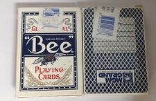 2/Pack - Bee Club Special Playing Cards (Used In MGM Grand Casino)