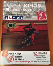 2018 KENT KINGS v STOKE POTTERS 4th JUNE    ( EXCELLENT CONDITION )