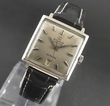 VINTAGE SWISS TISSOT VISODATE SEASTAR AUTOMATIC 21 JEWELS DATE MEN'S WRIST WATCH