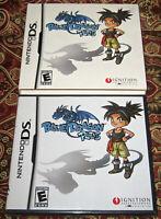 Blue Dragon Plus Nintendo DS NEW SEALED FIRST PRINT W/SLIPCOVER RARE NES