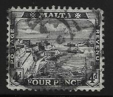 Malta Scott #63, Single 1915 Complete Set FVF Used