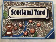 Scotland Yard Mystery Board Game 1983