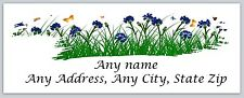 30 Personalized Return Address Labels Spring Flowers Buy 3 Get 1 free(c 608)