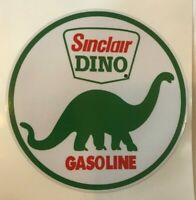 "5"" SINCLAIR DINO DECAL - NEW / FREE SHIPPING / gas pump decals *GAS & OIL"