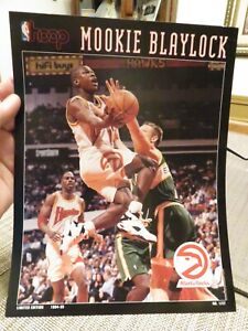HOOP Print---MOOKIE BLAYLOCK Boston Celtics vs. Toronto Raptors April 12, 1996