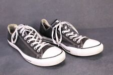 CB618 Converse All Star Classic Chucks OX Low-Top Sneaker Gr. 45 Canvas schwarz