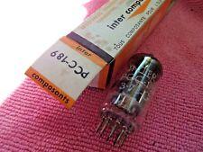 ****** PCC189 7ES8 IC > MULLARD  LAMPE TUBE VALVE TESTED STRONG NOS NIB =°=