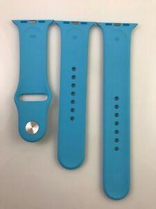 Original Apple Watch Series 7 6 SE 5 4 3 Sport Band 42mm 44mm 45MM 2nd Gen Blue