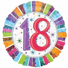 Palloncini Amscan numero compleanno adulto per feste e party