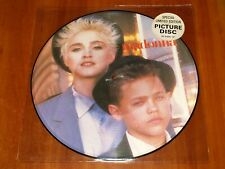 """MADONNA OPEN YOUR HEART *RARE* UK 12"""" PICTURE DISC VINYL 1986 SIRE PRESS LIMITED"""