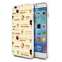 For Various Phones Design Hard Back Case Cover Skin - Ice Cream Cone