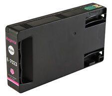 1 Magenta T7023 non-OEM Ink Cartridge For Epson Pro WP-4545DTWF WP-4595DNF