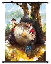 4717 Tonari no Totoro Decor Poster Wall Scroll cosplay