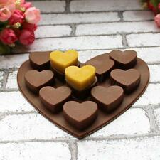 Heart Shape Muffin Sweet Candy Jelly fondant Cake chocolate Mold Silicone MSYG