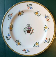 VINTAGE AYNSLEY FLOWER BASKET B204 PATTERN DINNER PLATE. UK Dispatch.