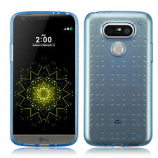 For LG G5 Spotted TPU CANDY Gel Flexi Skin Case Cover Accessory +Screen Guard