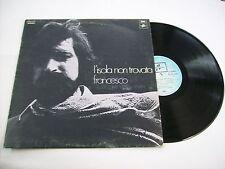 FRANCESCO GUCCINI - L'ISOLA NON TROVATA - LP VINYL 1970 EXCELLENT