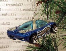 PONTIAC BANSHEE CONCEPT CAR BLUE GREY CHRISTMAS TREE ORNAMENT XMAS