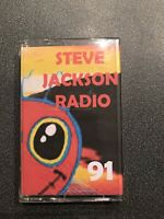 Hardcore Rave DJ Steve Jackson Edited Radio From 1991 Cassette Tape