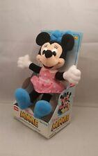 Rare Playskool 9 Minnie Mouse Plush Doll Action Figure 1989 Nrfp Htf