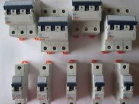 Gewiss Sicherung Schutzschalter Sicherungsautomat LS B C 10 16 20 25 32 A FI40