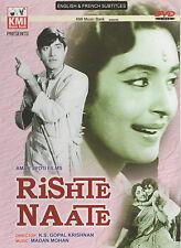 RISHTE NAATE - RAAJ KUMAR - NUTAN - NEW BOLLYWOOD DVD