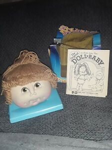 The Original DOLL BABY Head by Martha Nelson Thomas PONYTAIL Dirty Blonde 1984