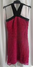 LADIES GORGEOUS PINK SILK DRESS SIZE 10 by MONSOON