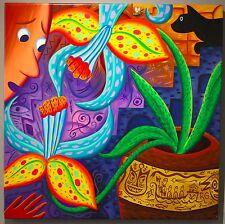 Rodney Alan Greenblat 1987 Pop Art painting NYC East Village scene