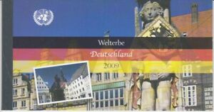 Un Vienna Markenheft Welterbe Germany 2009