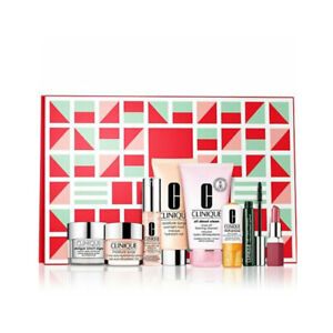 Clinique Merry Clinique Festive Favorites 8 Pieces Gift Set - Brand New