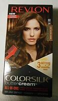 REVLON COLORSILK BUTTERCREAM PERMANENT HAIR DYE - LIGHT NATURAL BROWN #60