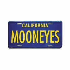 MOONEYES Kennzeichen Californien blau license plate vintage style beach surf fun