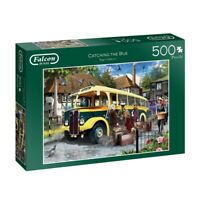 Attraper The Bus 500 Pièce Falcon de Luxe Puzzle Vintage Transport 11260