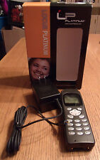 Kyocera QCP 2035a Complete Old Cellphone - Bar, Black and internet browser