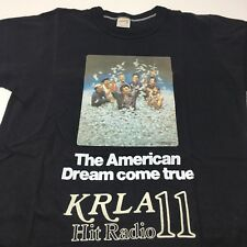 The Brink's Job Vintage 70s Movie Promo KRLA 11 Radio Station 1970s T Shirt M