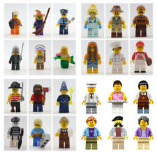 LEGO 15 NEW LEGO MINIFIGURES & ACCESSORIES  SERIES BOY GIRL TOWN PEOPLE SET