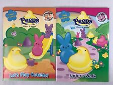 Peeps Activity Sticker Books Easter At Home School Play Time Simon Scribbles 2