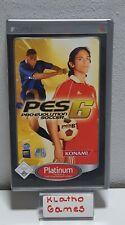 Sony PSP Spiel - PES 6 Pro Evolution Soccer OVP+Anleitung  B2019