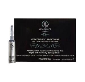 Paul Mitchell Awapuhi Wild Ginger Keratriplex Treatment 10 ampoules x 0.33oz/10m