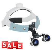 3.5X 420mm Headband Dental Surgical Medical Binocular Loupes Magnifier Loupe USA
